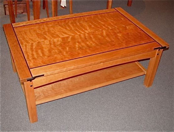 Craftsman Coffee Table   Northwest Fine Woodworking U0026 Gifts   La Conner, WA  98257