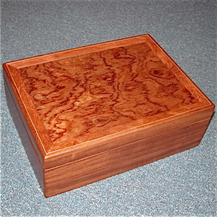 Heartwood Jewelry Box Madera Northwest Fine Woodworking Gifts