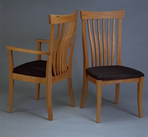 Pacific Dining Chair Northwest Fine Woodworking Gifts La