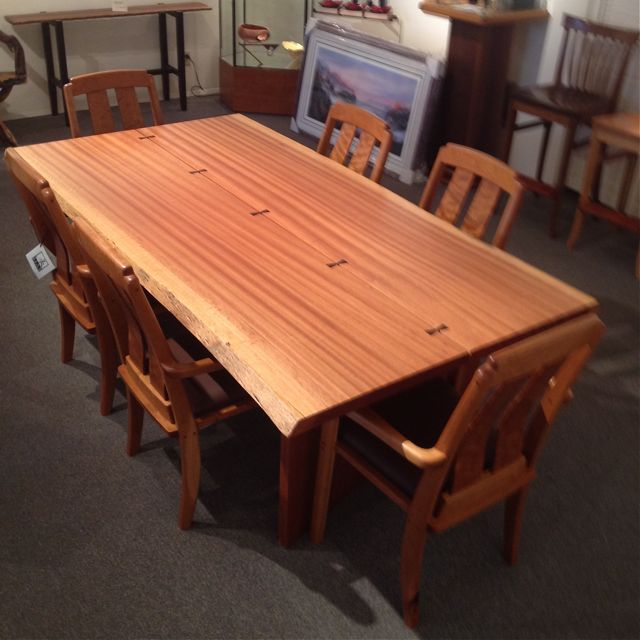 Sapele Dining Table Northwest Fine Woodworking Amp Gifts